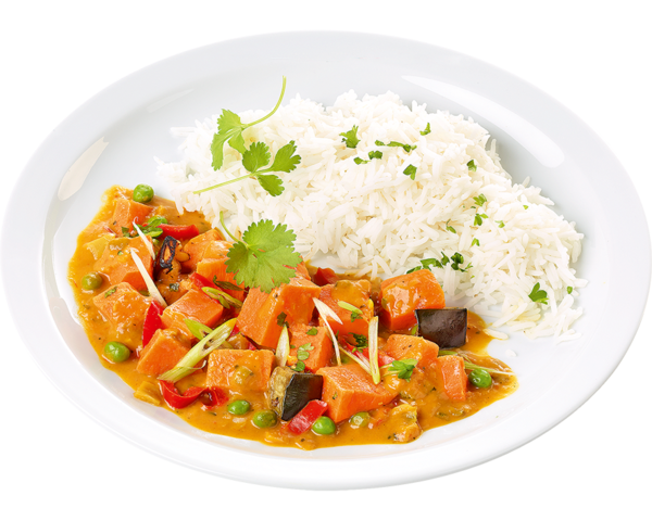 Süßkartoffel-Curry
